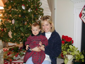 Maddie and Me Christmas 2000