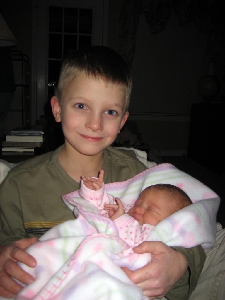 Gavin and Baby Kin