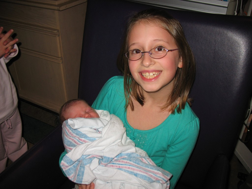 Maddie and Baby Kin