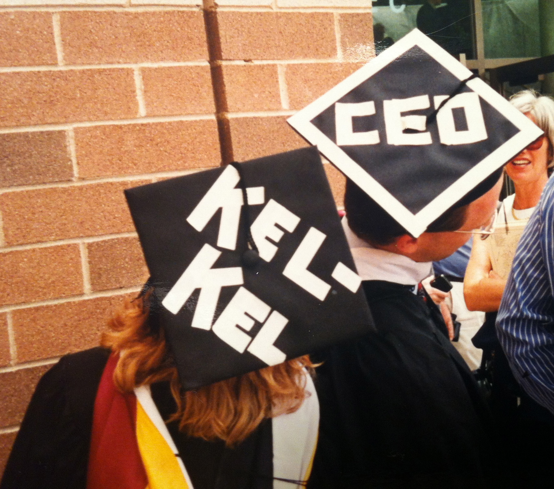 Graduation= Duff and Kel-Kel