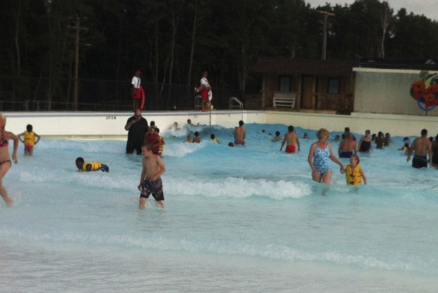Wave Pool Fun!