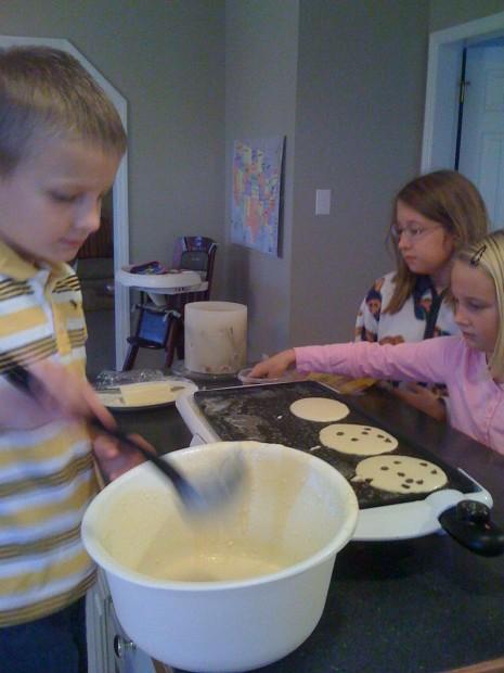 Pancake producers