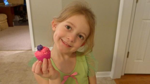 Play-Doh Cupcake
