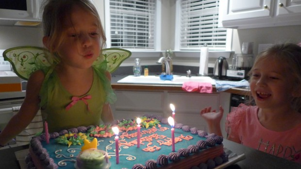 birthday candle blow-out