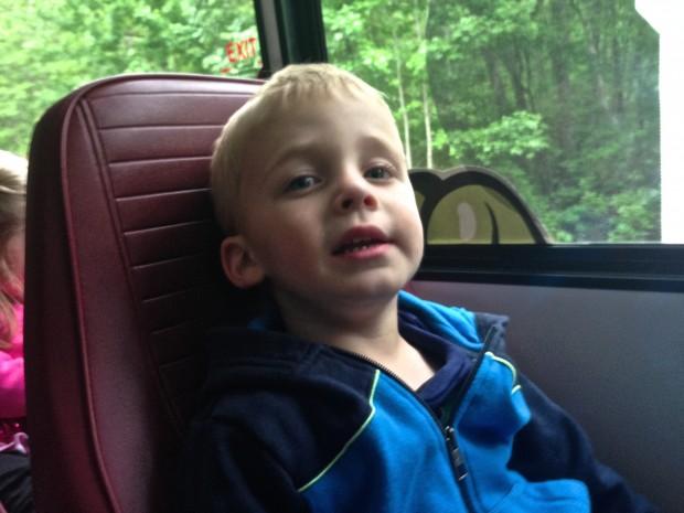My Boy on the Bus